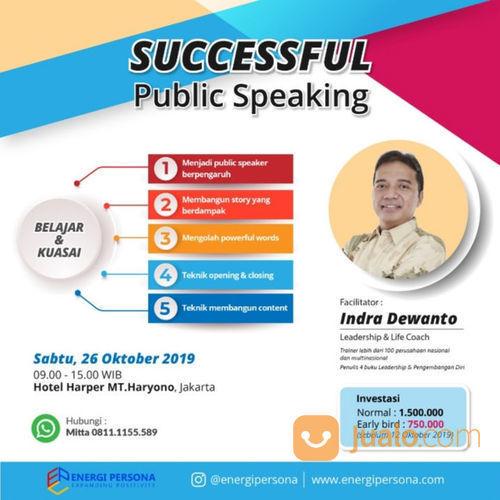 Successful Public Speaking (21147927) di Kota Jakarta Timur