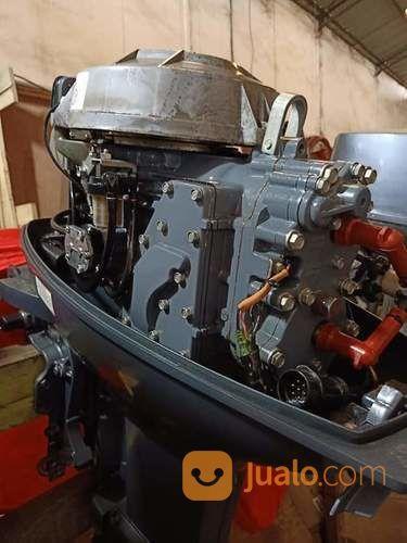 Mesin Tempel Speed Boat Yamaha 40pk Kaki Jet/Turbo Kondisi 90% (21169055) di Kab. Purwakarta