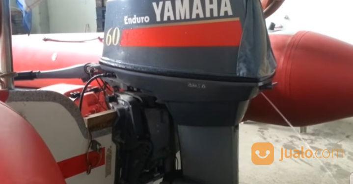 Mesin Tempel Speed Boat Yamaha 60pk 2tak Kondisi 90% (21169075) di Kab. Purwakarta