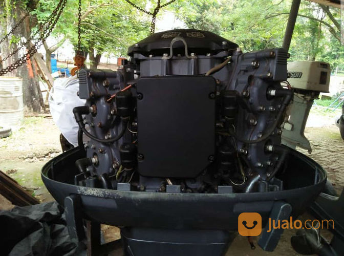 Mesin Tempel Speed Boat Yamaha 115pk 2tak Kondisi 90% (21169171) di Kab. Purwakarta