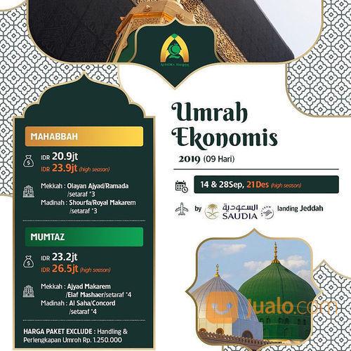 Paket Umroh Ekonomis Alindra Haqeem (21187547) di Kota Jakarta Selatan