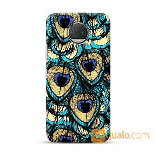 Peacock Feather Motorola G5s Custom Hard Case (21191143) di Kota Bekasi