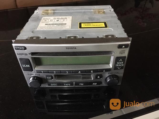 Head Unit Tape Toyota Rush Oem Original Medan Jualo