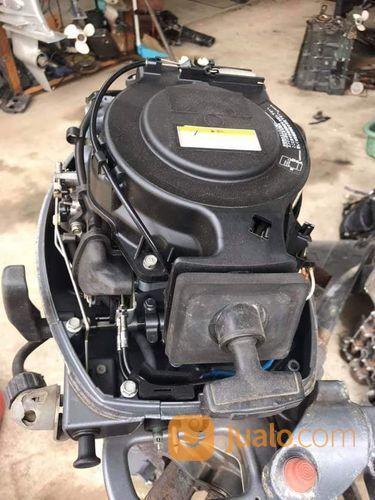 Mesin Tempel Speed Boat Yamaha 9,9hp 4tak Kondisi 90% (21206379) di Kab. Purwakarta