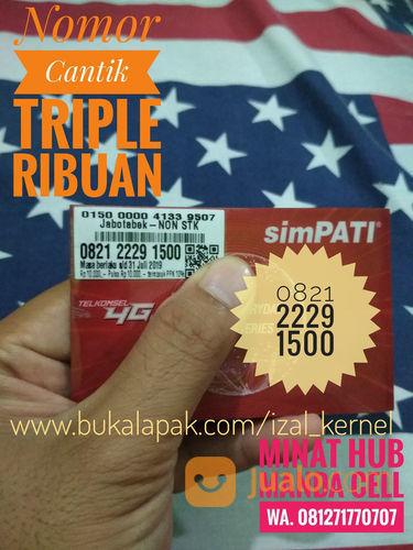 Nomor Cantik SimPATI Triple Ribuan 4G LTR (21211439) di Kab. Pasaman Barat