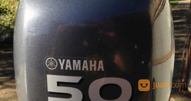 Mesin Tempel Speed Boat Yamaha 50hp 4tak Kondisi 85% (21219407) di Kab. Purwakarta