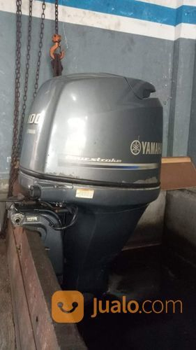 Mesin Tempel Speed Boat Yamaha 100hp 4tak Kondisi 85% (21219683) di Kab. Purwakarta
