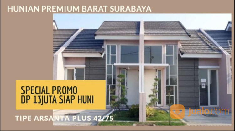Rumah Istimewa Arsanta Plus Siap Huni Cantik Minimalis Area Menganti (21224539) di Kota Surabaya