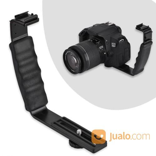 L shape bracket untuk aksesoris kamera lainnya 21267903