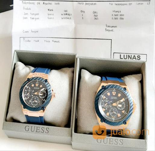 Guess jam tangan coup barang couple 21296351