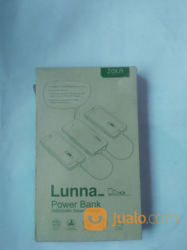 Zola Lunna 10500 MAh Power Bank Garansi Resmi Fast Charging (21297935) di Kota Jakarta Barat