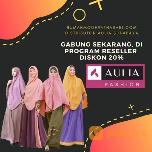 Distributor Gamis Aulia Surabaya Surabaya Jualo