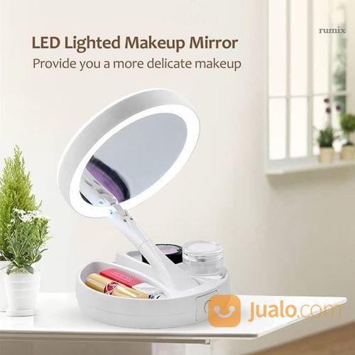 Cermin lipat led make kecantikan make up 21344511