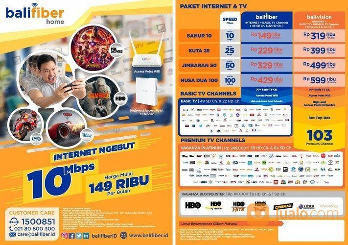 Balifiber internet da modem dan router 21347359