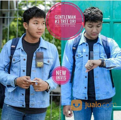 Jaket Jeans Tebel Size L Xl (21349571) di Kota Surakarta