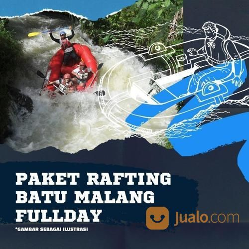 PAKET RAFTING BATU MALNG FULLDAY (21351611) di Kab. Sidoarjo