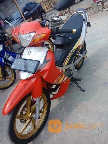 Suzuki Satria Hiu 2 Tak Tahun 2004 Pajak On Panjang Nyaman Tinggal Gas Nego Sopan (21351787) di Kota Jakarta Barat