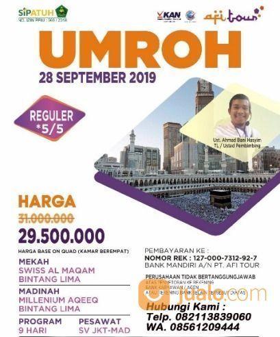 Umroh AFI Tour - Sahrul Gunawan (21358843) di Kota Jakarta Selatan