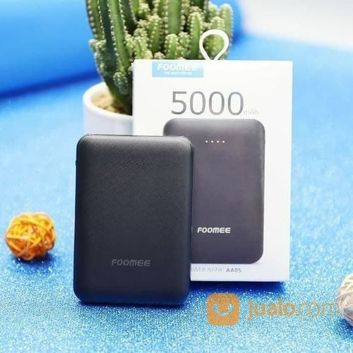 Power Bank FOOMEE PowerBank 5000 MAh AA05 SLIM (21391047) di Kota Surakarta
