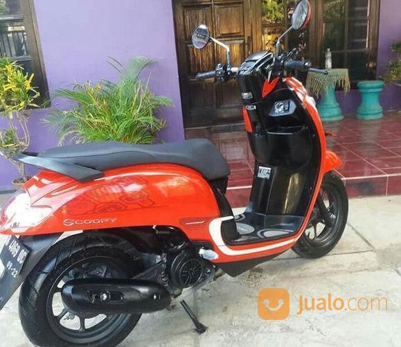 Motor Bekas Jogya Honda Scoopy Tahun 2016 Mesin Ori Body Kinclong (21401271) di Kota Gunungkidul