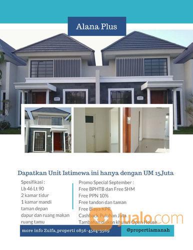 Rumah Favorite Alana Plus Dekat Kota Desain Kekinian UM Ringan (21402559) di Kota Surabaya