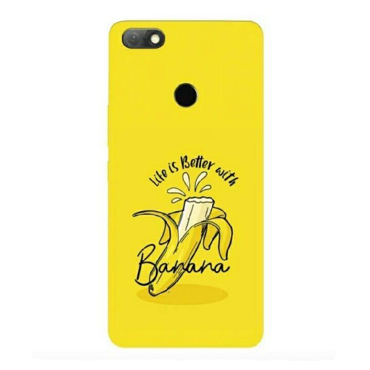 Banana Stylish Infinix Note 5 Custom Hard Case (21415959) di Kota Bekasi