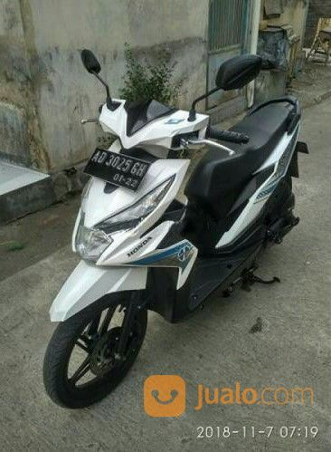 Motor Bekas Solo Honda Beat Tahun 2016 Pemakaian Pribadi Mulus Kinclong (21421875) di Kota Surakarta