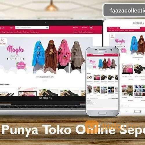 Jasa Buat Website Toko Online Rp 999.000 (21422375) di Kota Jakarta Pusat