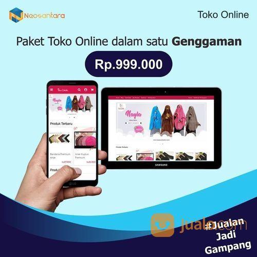 Jasa Buat Website Toko Online Rp 999.000 (21422383) di Kota Jakarta Pusat