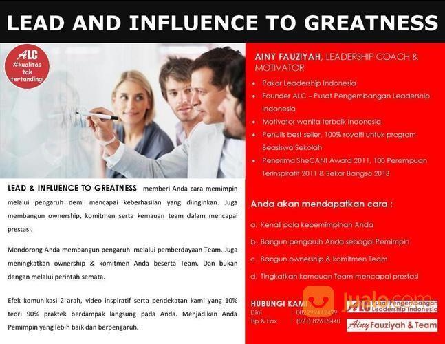Public Training Leadership Jakarta Bersama Motivator Indonesia (21452583) di Kota Jakarta Selatan