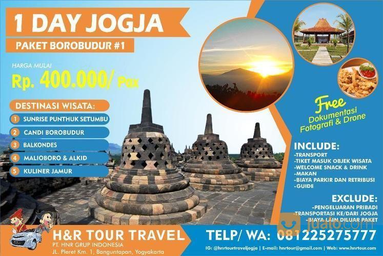 PAKET WISATA ONE DAY JOGJA BOROBUDUR 1 (21456867) di Kota Yogyakarta