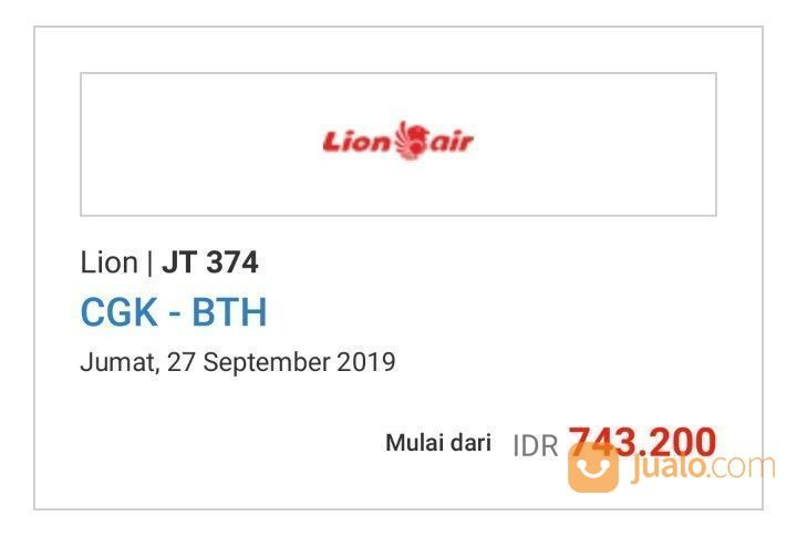 Tiket Pesawat Murah (21468787) di Kota Depok