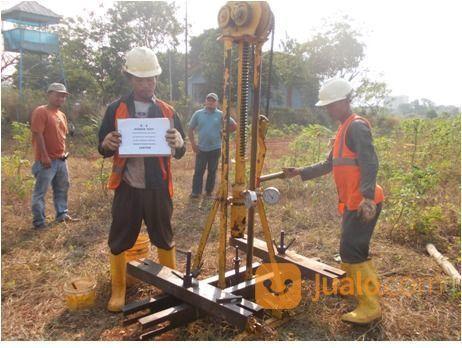 Jasa Soil Test Sondir Boring Test Tanah Lab Bekasi Jualo