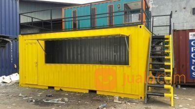 Pembuatan Booth Kontainer Rombong Cafe Resto Unik Modern (21478319) di Kab. Malang