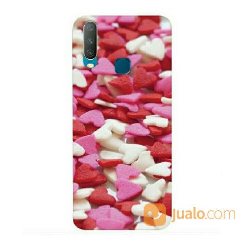 Love Pattern Vivo Y12 / Y15 2019 / Y17 Custom Hard Case (21479771) di Kota Bekasi