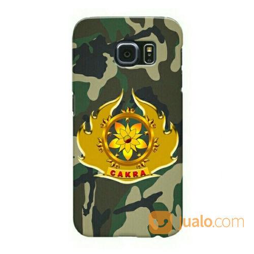 Cakra Army Camouflage Samsung Galaxy S6 Custom Hard Case (21490691) di Kota Bekasi