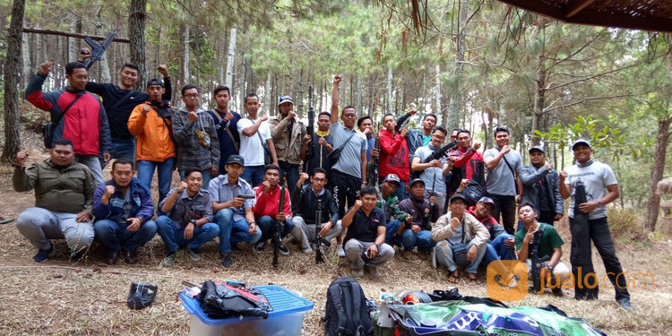 Outbound Bonus Paintball Murah (21550995) di Kota Malang