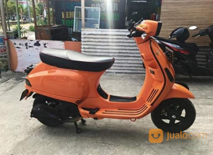 Vespa s 2014 orange motor piaggio 21575811