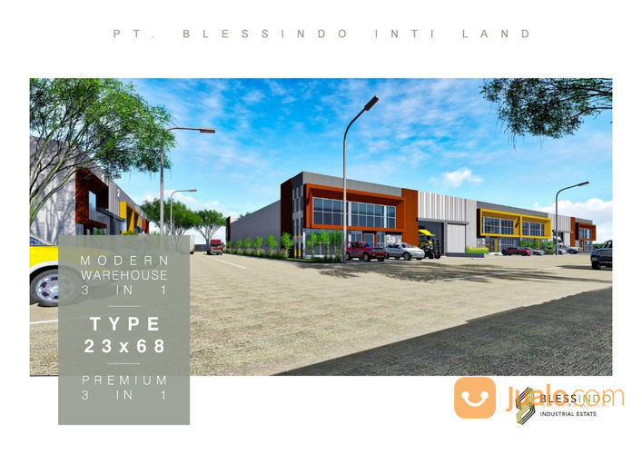 Gudang Pabrik Baru Indent Legok Mulai 480m Kab Tangerang Jualo