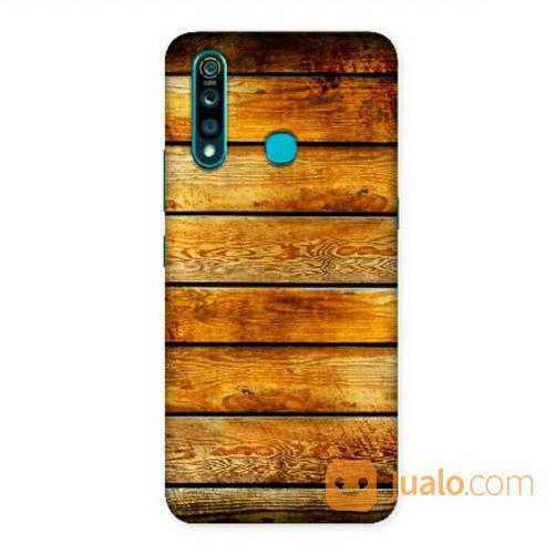 Rosewood Textured Vivo Z1 Pro Custom Hard Case (21589831) di Kota Bekasi