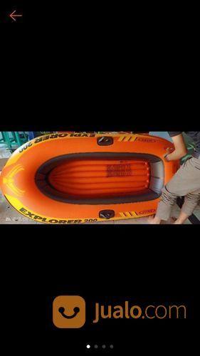 Perahu Karet Intex Explorer 2000+ Pompa+Dayung (21604439) di Kab. Gresik