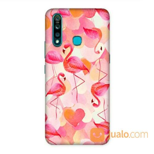 Flamingo Swan Vivo Z1 Pro Custom Hard Case (21620435) di Kota Bekasi