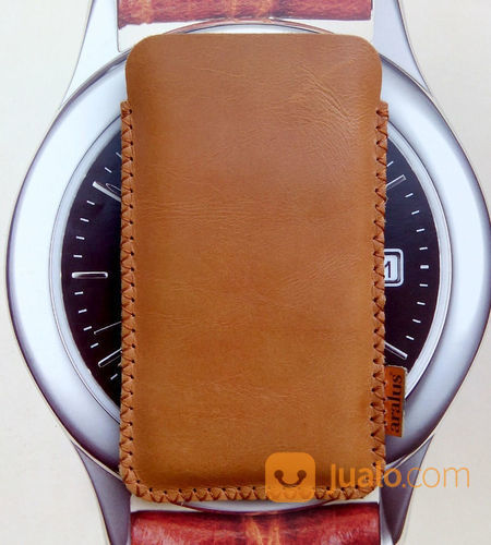 Enuine Leather Case Samsung Galaxy Note FE Pouch Sleeve Kulit Asli (21620575) di Kab. Bandung