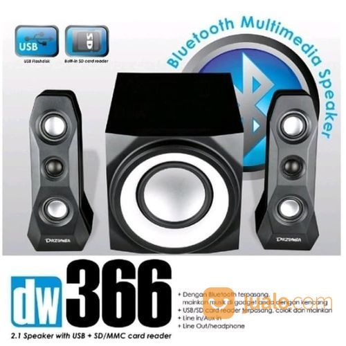 Speaker Dazumba DW366N Multimedia Bluetooth (21624951) di Kota Surakarta