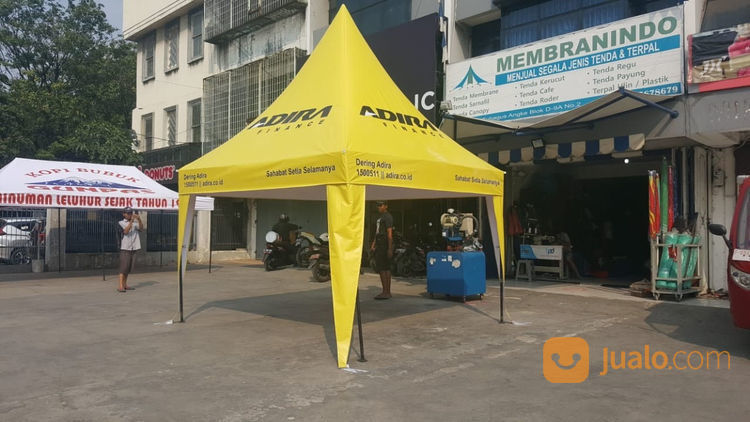Termurah, Cover Tenda Kerucut Uk.3m X 3m (21649351) di Kota Jakarta Barat