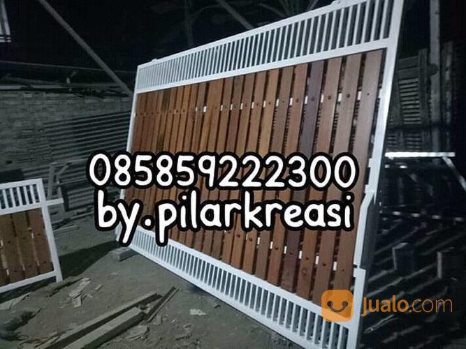 Pagar Kayu Minimalis Kuat Dan Kokoh | Surabaya | Jualo