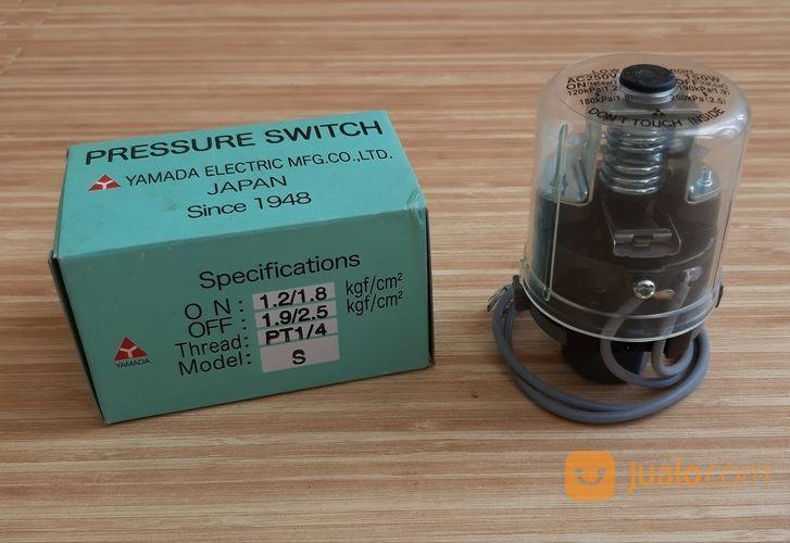 Otomatis Pompa Air Pressure Switch Yamada Drat 1 4 Surabaya Jualo