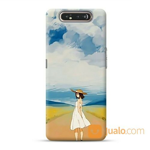 Girl In The Field Samsung Galaxy A80 Custom Hard Case (21668183) di Kota Bekasi