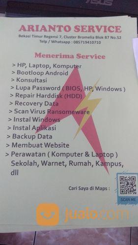 Jasa Service PC, Laptop, HDD, Dan Smartphone (21702175) di Kota Bekasi
