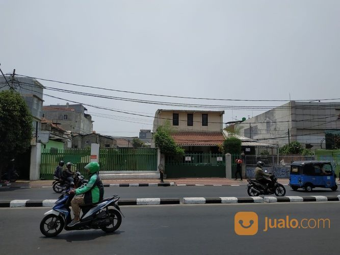 Tanah Jl. Garuda Kemayoran 2551 M2 Ngantong Hoki 80 Meter Stasiun Kemayoran (21720603) di Kota Jakarta Barat